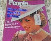 "Princess Di, ""What She Was Worth To Britain""  People Magazine November 1985"