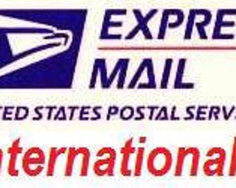 Priority Mail EXPRESS INTERNATIONAL Upgrade - 45.95