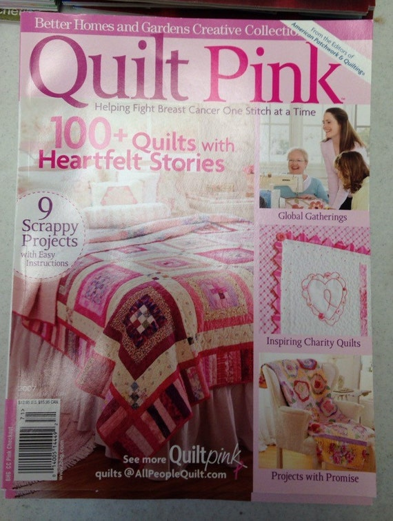 Better Homes And Gardens Creative Collection Quilt Pink 2007