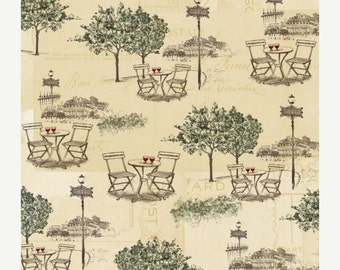 ON SALE Outdoor Cafe  from I Dream of Paris for Windham Fabrics