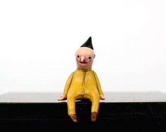 "Black Hat Edgefellows ""Miles"" - Sculpture, Miniature"