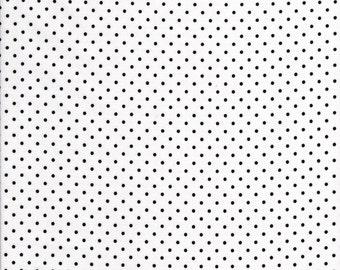 Black Swiss Dots by Riley Blake C660-110