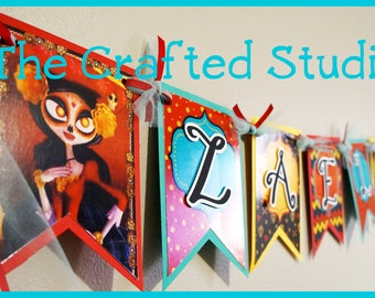 The Book of Life Personalized Banner