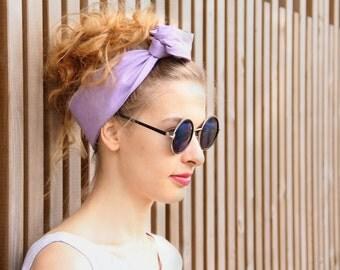 Light purple headband