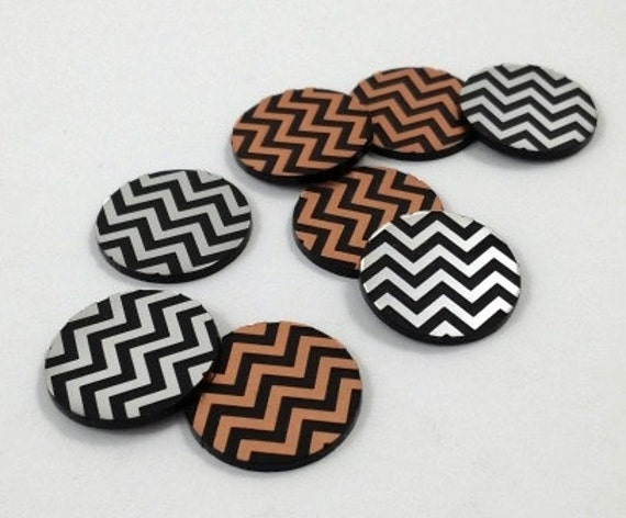 Laser Cut Supplies-8 Pieces. Chevron Pattern Charms-Mixed.Laser Cut Acrylic-Earring Supplies-Little Laser Lab Laser Cut Acrylic Products
