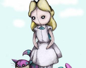 Plush Wonderland Fine Art Print