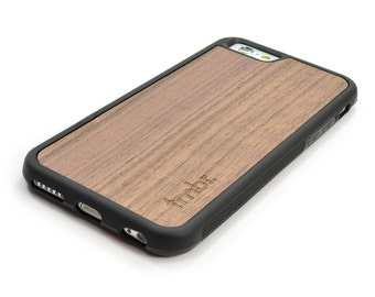iPhone 6 Wood Case, Wood iPhone 6 Walnut Case - SHK-W-I6