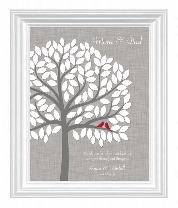 Wedding Thank You Gifts For Parents Uk : Wedding Thank You Gift for Parents from Bride and Groom- Mother ...