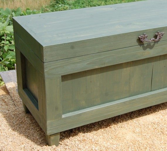 Items Similar To Extra Large Hope Chest End Of The Bed Bench Blanket Storage Wedding
