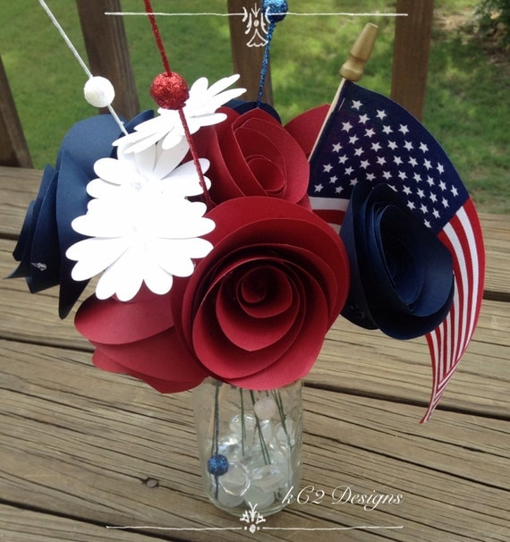 fourth of july wedding decorations items similar to 4th of july decorations white and 4326