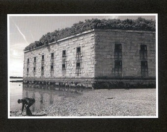 Fort Gorges - photo card