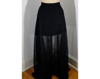 Upcycled Maxi Skirt