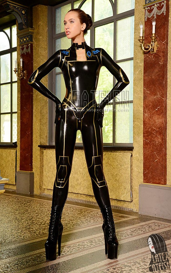 latex cosplay