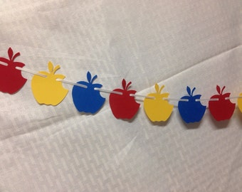 Snow White Apple Garland