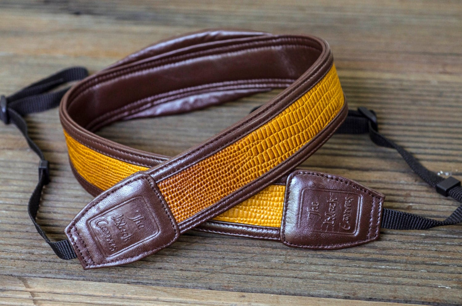 Leather DSLR Camera Strap Mellow Yellow by TheBlackCanvas ... - photo#8