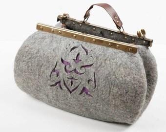 Big hand bag , carpetbag.