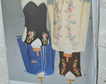 Simplicity 9891  Misses Jackets and  Vests  - UNCUT sewing Pattern - Sizes  6 8 10