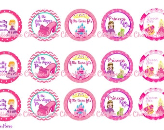 Princess  bci bottle cap image , 1 inch image,
