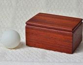 Small Gift Box, Padauk