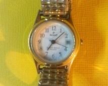 Gold Signet, Speidel USA Ladies Vintage Watch