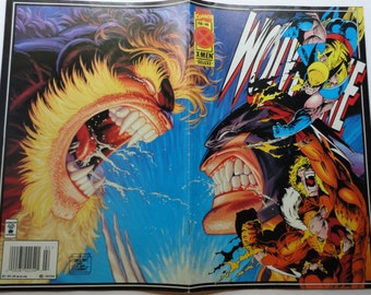 Wolverine XMen Deluxe, Vintage MARVEL Comic Book