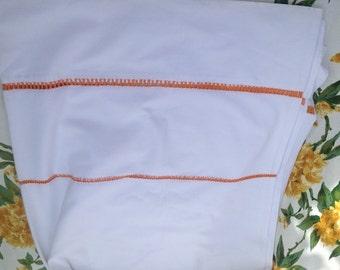 Large French Linen Flat Sheet