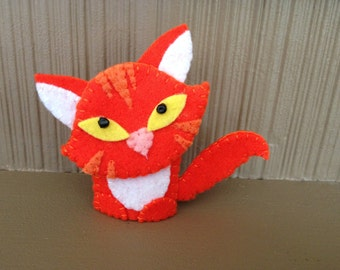 Cat Finger Puppet