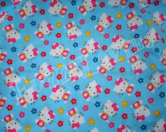 Hello Kitty Flowers Pillowcase Dress MADE TO ORDER