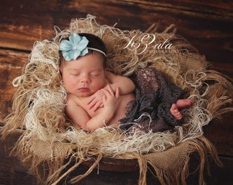 Baby Headband Newborn Photo Prop Headband Baby Photography Prop Headband Baby Picture Prop Headband Flower Headband Baby Girl Headband