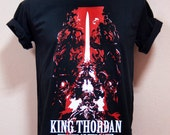 Final Fantasy XIV Heaven Sword King Thordan and Knight of the round summoner  - Unisex Adult T-Shirt Black Tshirt featured image