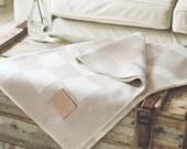 Merino Lambswool Blanket - Dune
