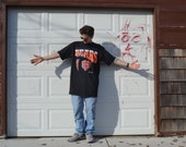 Flippin' Crispy Vintage 90's Chicago Bears Giant Over Sized T-Shirt / XXL