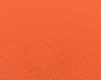Orange Felt Sheets - 6 pcs - Rainbow Classic Eco Fi Craft Felt Supplies