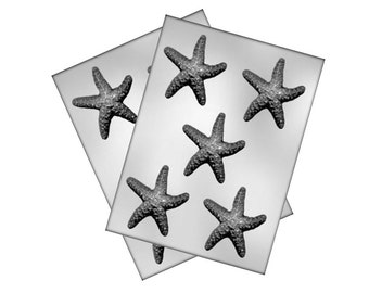 Starfish Chocolate Mold - Under The Sea - Baking Candy Making Party Supplies