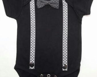 "Baby's first ""black tie"""