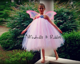 Blossom Fairy Dress and Wings [Sale]