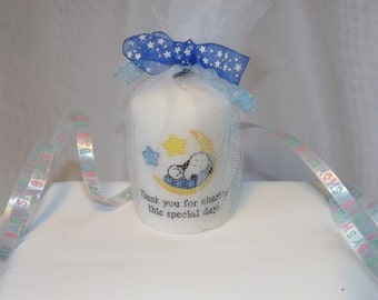 Baby Snoopy Peanuts Baby Shower Candle Favors