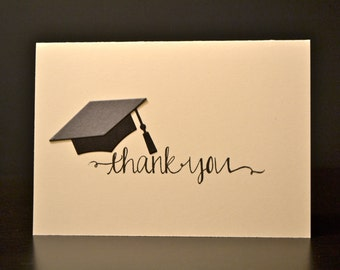 Graduation Thank You Cards and Envelopes (10)