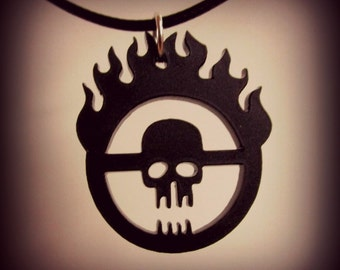 Mad Max Fury Road Immortan Joe Skull Gang Inspired Symbol Necklace War Boys