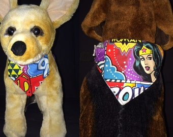Wonder Woman Dog/Cat bandana