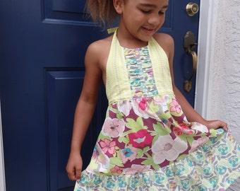 Girl's Halter Dress