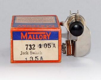 """Mallory """"Jack Switch"""" panel mount rotary switch - 732 105A 135A"""