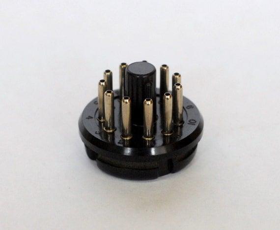 Amphenol 11 Pin Plug 86cp11 Collins 32s 75s Kwm