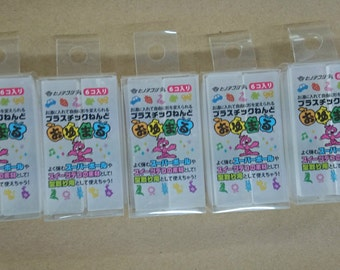 Oyumaru Reusable clay mold making material 30pc SET Clear