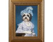 Tibetan Terrier, Dog Magnet, Lulu, Refrigerator Magnet
