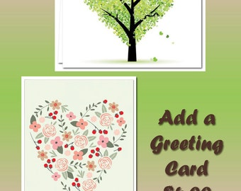 Greeting Card Sent With Your Order