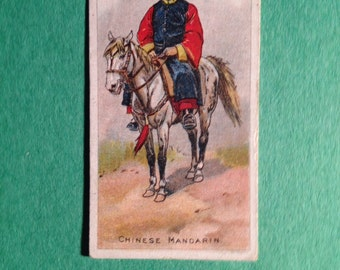 Old horse racing card