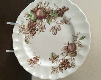 Reserved for Nancy P.JOHNSON BROS.Harvest Time Pattern 3 Dinner  Plates circa 1970's