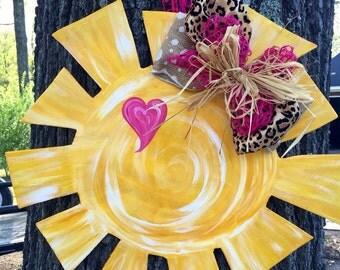 Sunny Day Sun door Hanger!