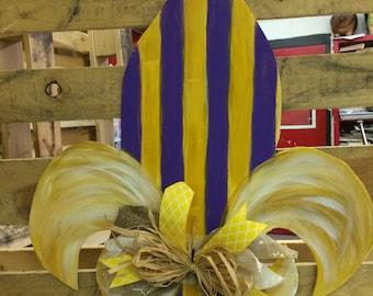 Cutesy Fleur De Lis door hanger